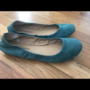 Lucky Brand rounded-toe ballet flat